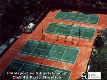 Tenis - Polideportivo Sihuatehuacan